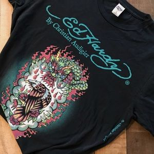 Ed Hardy by Christian Audigier t-shirt